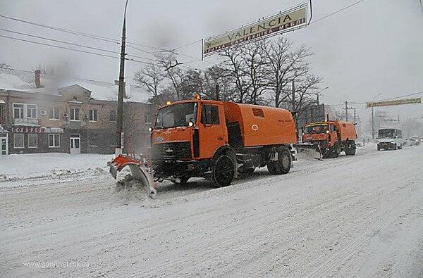 На Николаев надвигается снегопад – власть просит не парковать автомобили вдоль дорог | Корабелов.ИНФО