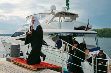 Российский патриарх Кирилл