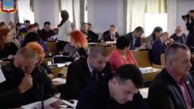 депутаты на сессии горсовета 09.11.2018
