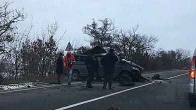 В Николаевской области столкнулись микроавтобус и фура – погибли два человека | Корабелов.ИНФО image 3