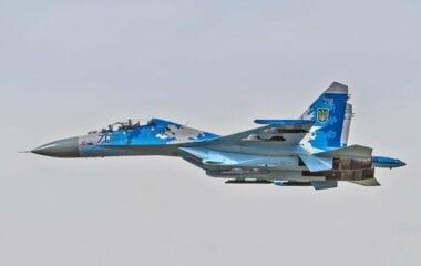 В Украине разбился еще один истребитель Су-27