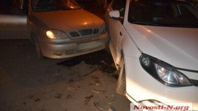 В Николаеве на перекрестке столкнулись автомобили MG и Daewoo — пострадала девушка   Корабелов.ИНФО