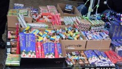 Photo of Перед Новым годом на рынках Николаева изъяли почти 1300 пиротехнических изделий