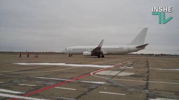 Photo of Николаевский аэропорт сегодня впервые отправил чартер в Египет, а также принял Киевский рейс