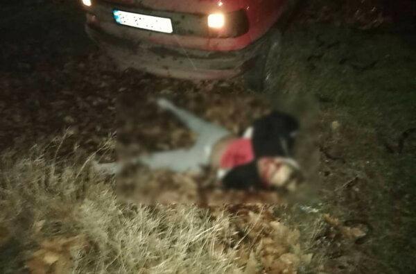 Ночью на Широкобальском перегоне Opel влетел в Nissan и насмерть сбил неизвестного парня. Фото 18+ | Корабелов.ИНФО image 2