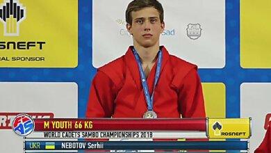 Николаевец стал чемпионом мира по самбо среди кадетов, победив в финале россиянина | Корабелов.ИНФО