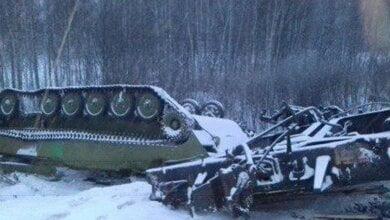 В России сошли с рельсов 35 вагонов с военной техникой   Корабелов.ИНФО