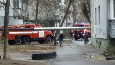 2018 г.: пожар в подвале дома по пр. Корабелов