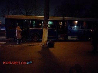 """автобус с """"Ника-Теры"""" сбил пешехода на переходе"""