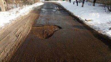 «Глубина 10-15 см – это обычное явление, но не таких размеров», - николаевец о ямах на дорогах в Корабельном районе   Корабелов.ИНФО image 4