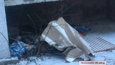 Photo of В Николаеве под балконом многоэтажки обнаружили труп замерзшей женщины