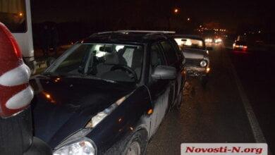 Photo of В Корабельном районе столкнулись три автомобиля