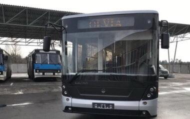 """новый автобус для ГП """"СК """"Ольвия"""""""