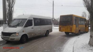 Photo of «Занесло» из-за гололеда: в Корабельном районе столкнулись две «маршрутки»