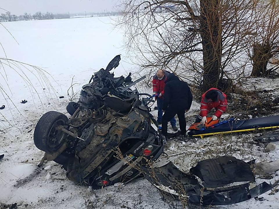На Николаевщине столкнулись «Opel» и «Mazda» – 8 человек погибло, среди них двое детей и младенец