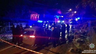 В Николаеве полиция охраняла угонщика от таксистов, которые хотели совершить самосуд   Корабелов.ИНФО