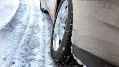 «Спасибо» мэру за зимний дрифт», - водители показали нерасчищенный въезд в Николаев со стороны Херсона | Корабелов.ИНФО