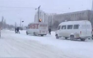 дороги в Корабельном не почищены от снега