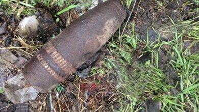 В Корабельном районе во время поиска металлолома мужчина нашел артснаряд | Корабелов.ИНФО image 2