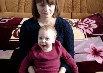 Ірина і Миколка Деменчук