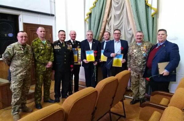 В Николаеве получили награды воины советской оккупации Афганистана   Корабелов.ИНФО