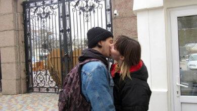 Николаевские влюбленные бесплатно попали в зоопарк, доказав чувства поцелуями | Корабелов.ИНФО image 2