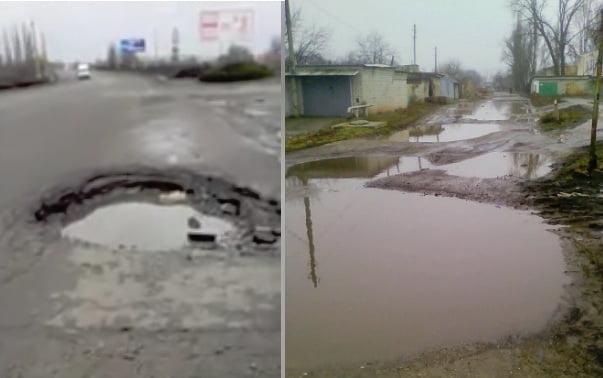 Photo of «У нас — просто темень… и ямы по пояс», — жительница Корабельного района жалуется на отсутствие уличного освещения и плохую дорогу