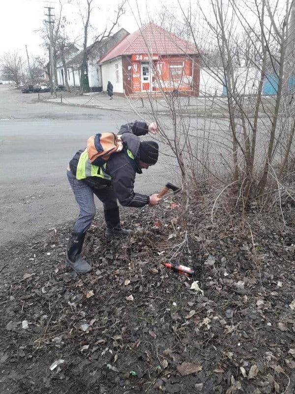 Прибирання сміття, ліквідація звалищ листя, обрізка та знесення дерев: у Корабельному районі триває санітарне очищення