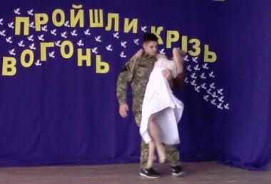 Хвилююча естафета пам`яті розпочалася в Галицинівській громаді до 75-ої річниці визволення сел Вітовщини (ВІДЕО)