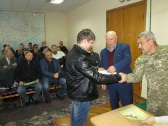 награждение участников АТО в Корабельной райадминистрации