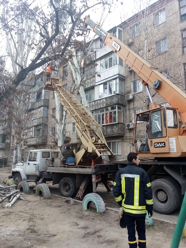 Ліквідація звалищ, прибирання зупинок, обрізка та знесення дерев: у Корабельному районі триває санітарне очищення