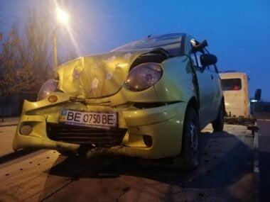 """такси фирмы """"722-722"""" в ДТП"""
