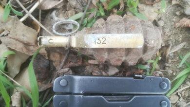 Николаевец нашел возле детской спортплощадки боевую гранату | Корабелов.ИНФО