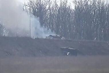 Украинская армия с помощью управляемых ракет уничтожила две позиции боевиков (видео)