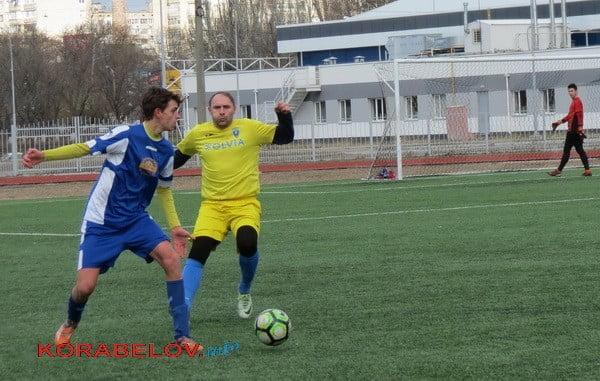 Гаряча гра: на футбольному полі зустрілись «Миколаїв»(U-18) і «Ольвія»