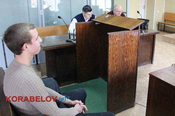 обвиняемый Безноско и адвокаты