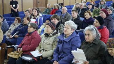 встреча Сенкевича с жителями Кульбакино
