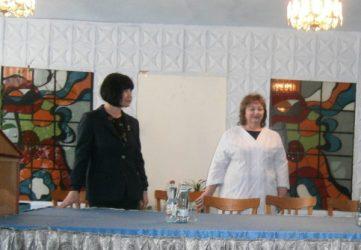Ирина Шамрай и Елена Терентьева