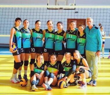 Команды Николаевской ДЮСШ №5 выступили на чемпионате Украины по женскому волейболу