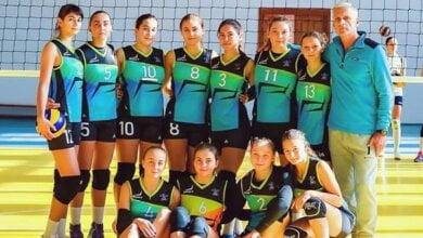 Photo of Команды Николаевской ДЮСШ №5 выступили на чемпионате Украины по женскому волейболу