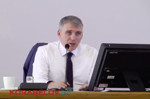 Александр Сенкевич на сессии 09.04.2019