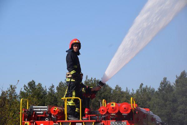 Photo of Рятувальники Корабельного району тренувалися гасити пожежі в Балабанівському лісі