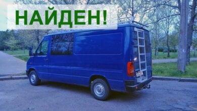 Нашелся угнанный в Николаеве коммерческий микроавтобус - с него сорвали рекламу и бросили | Корабелов.ИНФО