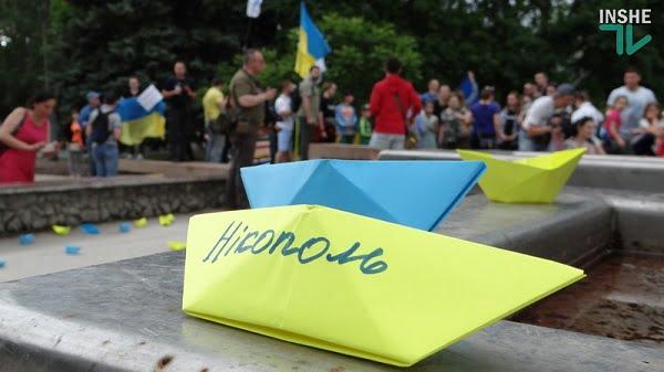 Photo of «Хлопці, ми вас чекаємо!»: в Николаеве состоялась акция в поддержку пленных украинских моряков