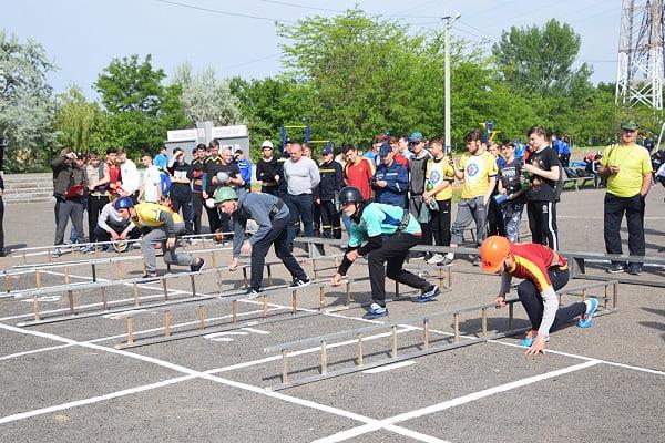 Photo of Серед кращих на обласних змаганнях з пожежно-прикладного спорту — юнаки з Корабельного району