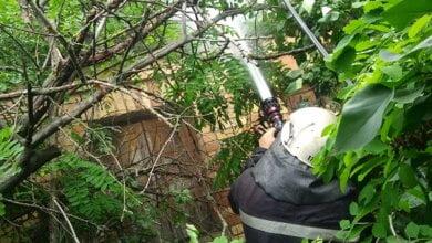Рятувальники з Корабельного району ліквідували пожежу будинку в садово-виноградному товаристві   Корабелов.ИНФО