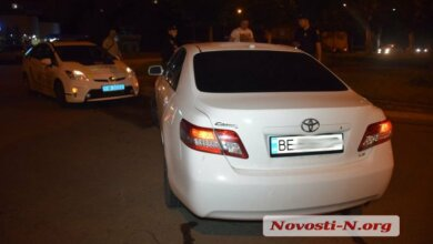 В Николаеве «Тойота» сбила троих пешеходов | Корабелов.ИНФО