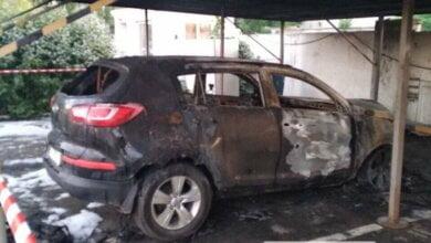 В Николаеве сожгли автомобиль начальника локомотивного депо | Корабелов.ИНФО