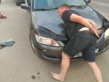 один из задержанных воров-близнецов (фото полиции)