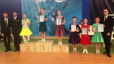 Танцювальні пари з Корабельного району Миколаєва показали добрі результати на всеукраїнських змаганнях в Одесі   Корабелов.ИНФО